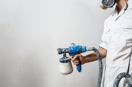 Deciding Between Using A Brush Or Paint Sprayer For Your Hom